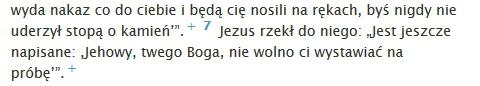 Mateusza 4:7 (PNŚ Świadkowie Jehowy)