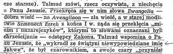 """Jan Dobraczyński """"Jezus Chrystus i jego Apostołowie"""" 1954 rok. str. 19"""