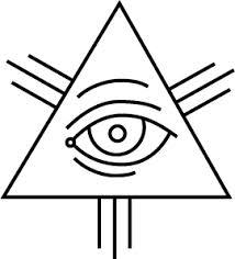 Tzw. Oko opatrzności lub wszystkowidzące oko