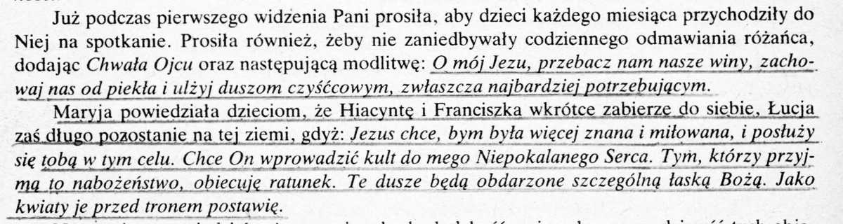 Objawienie w Fatimie