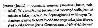 Jeszua to Jezus